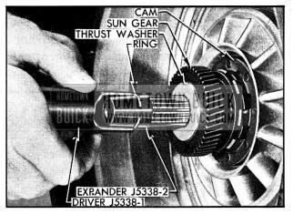 1954 Buick Installing Turbine Retaining Ring
