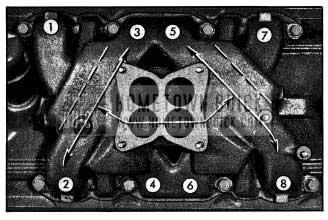 1954 Buick Intake Manifold Distribution