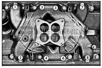 1954 Buick Intake Manifold Heat Chambers