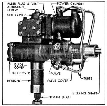 1954 Buick Left Side of Power Steering Gear Assembly