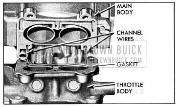 1954 Buick Location of Idle Channel Wires