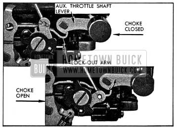 1954 Buick Lock-Out Arm Adjustment