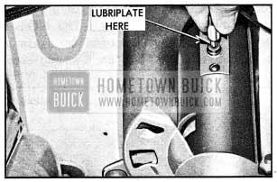 1954 Buick Lubrication of Horn Cable Connector