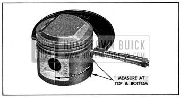 1954 Buick Measuring Piston with Micrometer