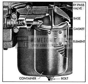 1954 Buick Oil Filter Installation