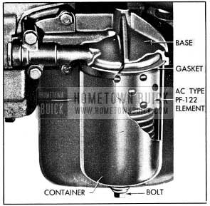 1954 Buick Oil Filter