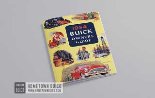 1954 Buick Owners Guide