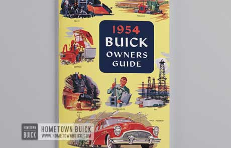 1954 Buick Owners Guide - 02