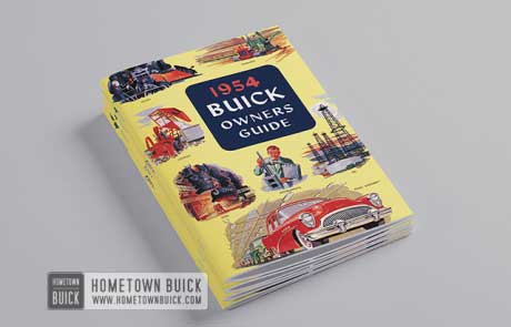 1954 Buick Owners Guide - 03