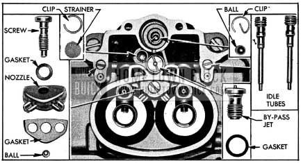 1954 Buick Parts In Main Stromberg Carburetor Body