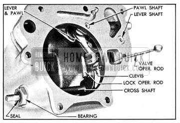 1954 Buick Parts in Rear Bearing Retainer