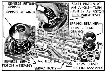 1954 Buick Parts Installed in Servo Body