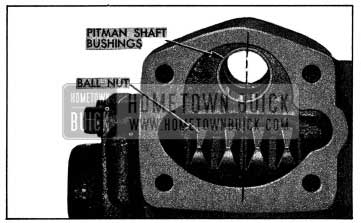 1954 Buick Position of Ball Nut for Installation of Pitman Shaft
