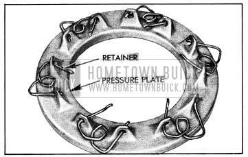1954 Buick Positioning Spring Retainers