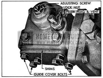 1954 Buick Power Steering Gear Adjustments
