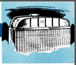 1954 Buick Radiator