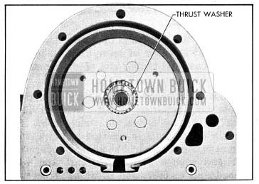 1954 Buick Reaction Gear Thrust Washer in Place