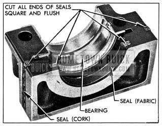 1954 Buick Rear Bearing Oil Seals