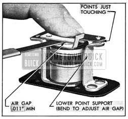 1954 Buick Relay Air Gap Adjustment