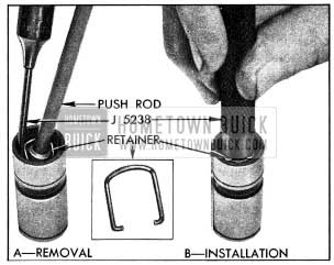 1954 Buick Removing and Installing Plunger Retainer