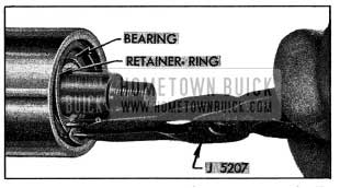 1954 Buick Removing Bearing Retaining Ring