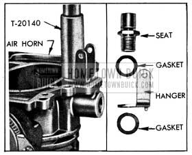 1954 Buick Removing Needle Valve Seat and Float Hanger