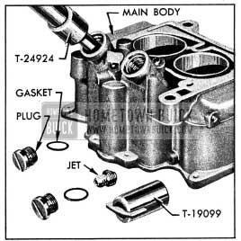 1954 Buick Removing Plug and Main Metering Jet