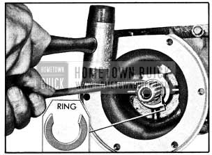 1954 Buick Removing Universal Joint Retaining Ring