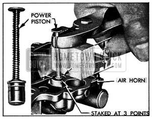 1954 Buick Removing Vacuum Power Piston
