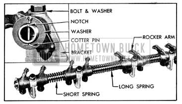 1954 Buick Rocker Arm and Shaft Assembly
