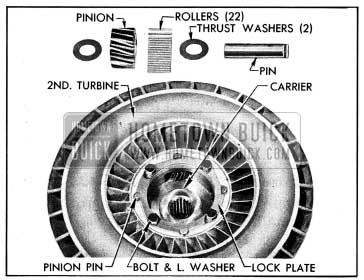 1954 Buick Second Turbine Parts