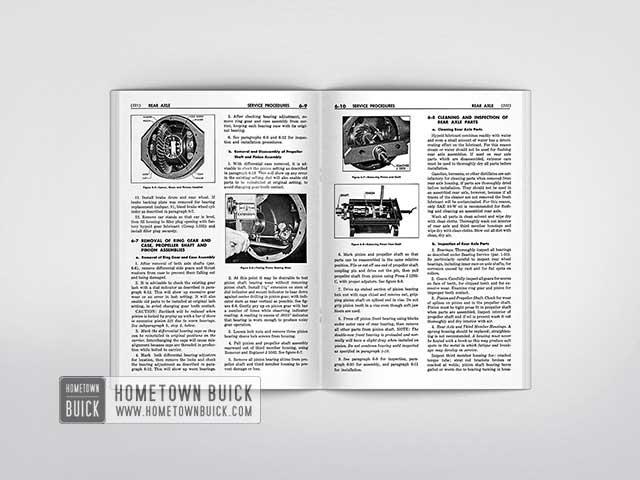 1954 buick shop manual hometown buick rh hometownbuick com 1954 Buick Special Hardtop 1956 Buick Special