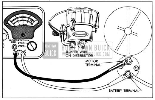 1954 Buick Solenoid Switch Contact Test Connections
