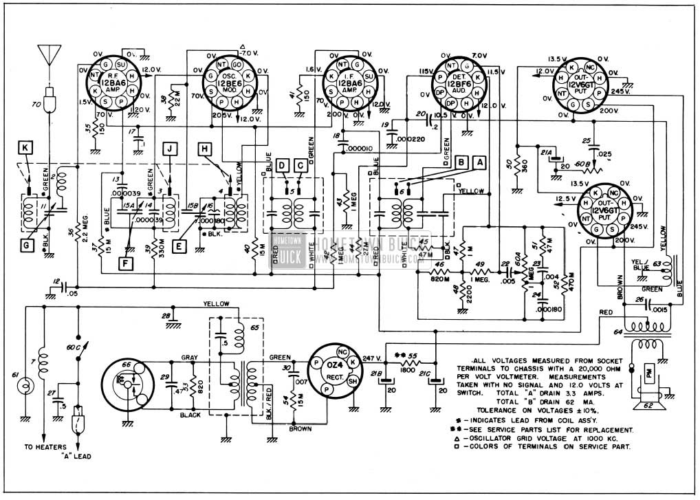 1956 buick electrical systems maintenance