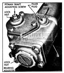 1954 Buick Steering Gear Adjustments