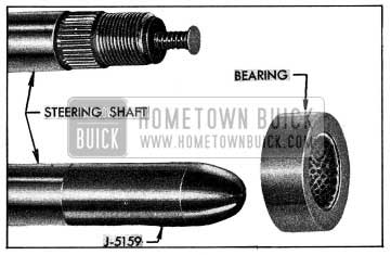1954 Buick Steering Shaft, Bearing, and Bearing Protector