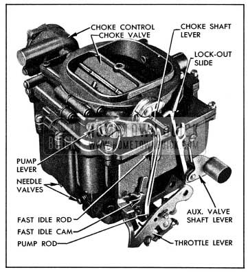 1954 Buick Stromberg 4-Barrel Carburetor
