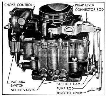 1954 Buick Stromberg 2-barrel Carburetor