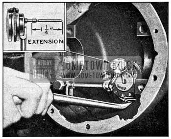 1954 Buick Testing Pinion Bearing Wear