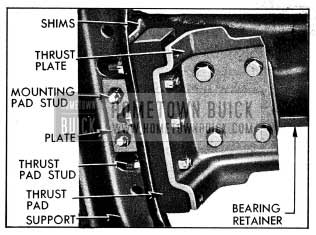 1954 Buick Transmission Mounting-Bottom View