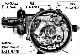 1954 Buick Vacuum Advance Mechanism