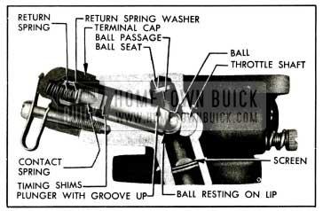 1955 Buick Accelerator Vacuum Switch Parts