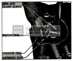 1955 Buick Adjusting Metering Rods