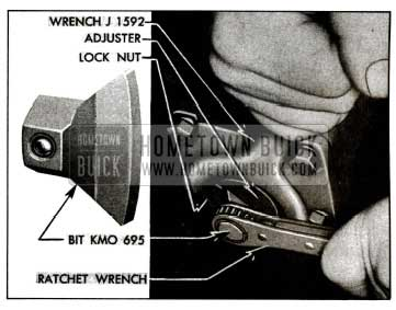 1955 Buick Adjusting Worm Thrust Bearings