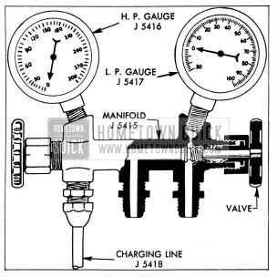 1955 Buick Air Conditioner Compressor Service Procedures