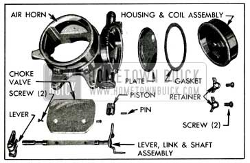 1955 Buick Air Hom and Climatic Control-Disassembled