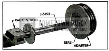 1955 Buick Application of Rod Inserter J 5193