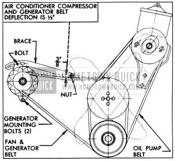 1955 Buick Belt Adjustments