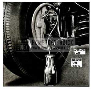 1955 Buick Bleeding Wheel Cylinder