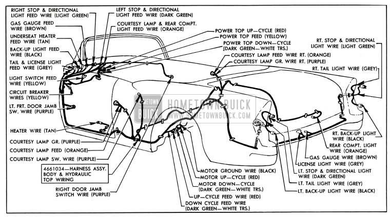 1955 Buick Wiring Diagrams
